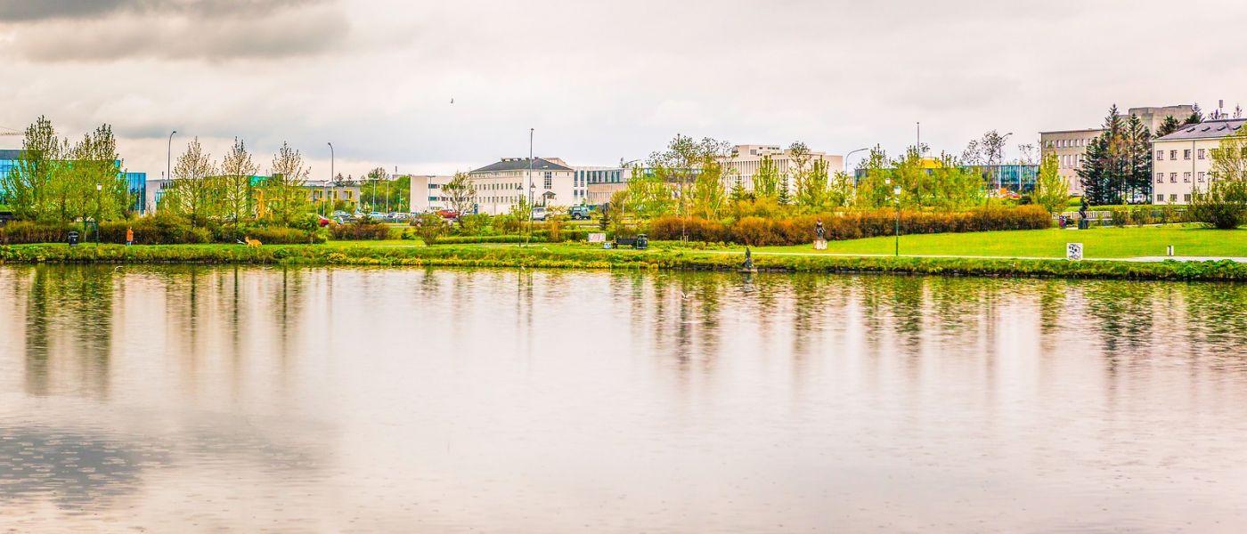 冰岛雷克雅未克(Reykjavík),城中湖_图1-33
