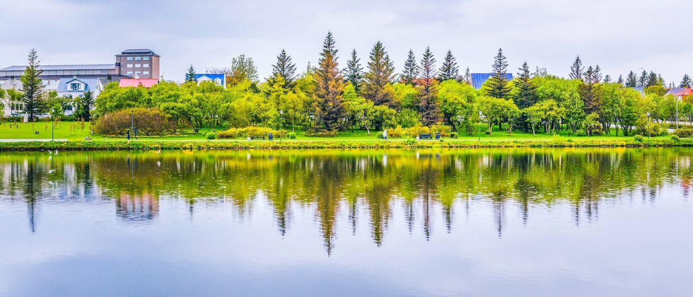 冰岛雷克雅未克(Reykjavík),城中湖_图1-34