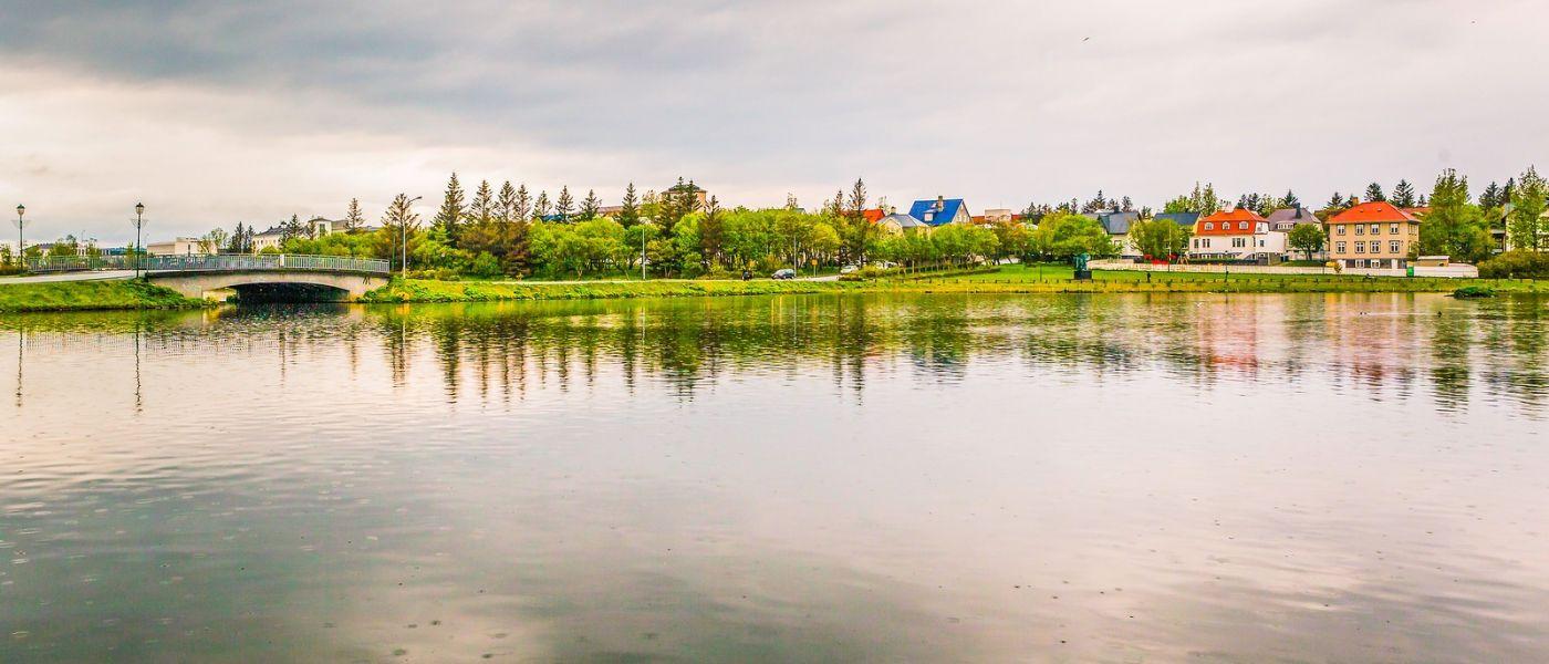 冰岛雷克雅未克(Reykjavík),城中湖_图1-35
