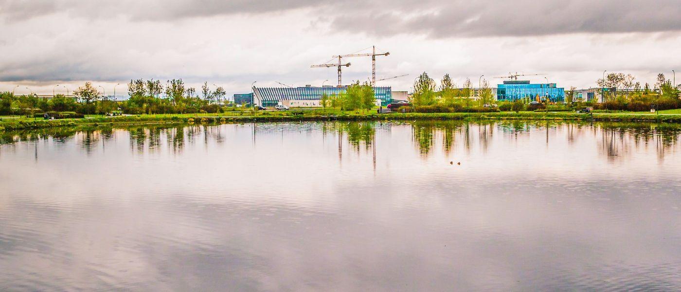 冰岛雷克雅未克(Reykjavík),城中湖_图1-30