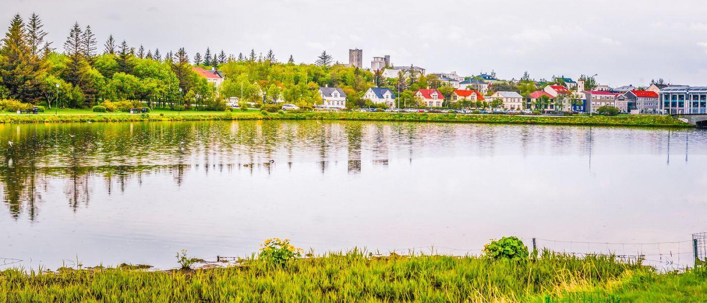 冰岛雷克雅未克(Reykjavík),城中湖_图1-29