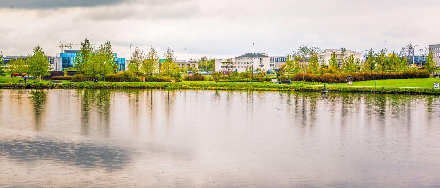 冰岛雷克雅未克(Reykjavík),城中湖_图1-26