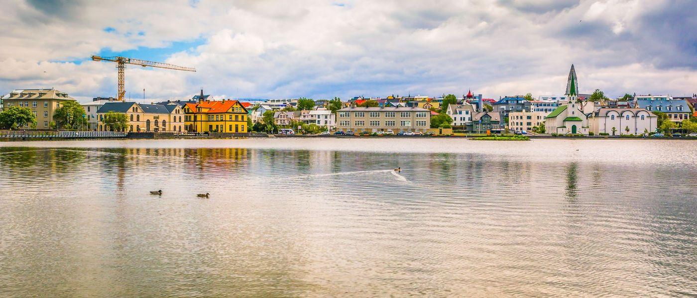 冰岛雷克雅未克(Reykjavík),城中湖_图1-27