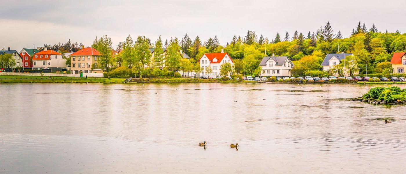 冰岛雷克雅未克(Reykjavík),城中湖_图1-28