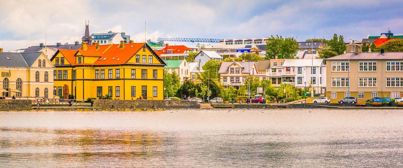 冰岛雷克雅未克(Reykjavík),城中湖_图1-23