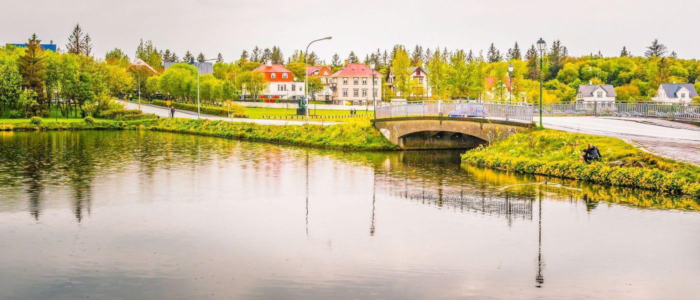 冰岛雷克雅未克(Reykjavík),城中湖_图1-19