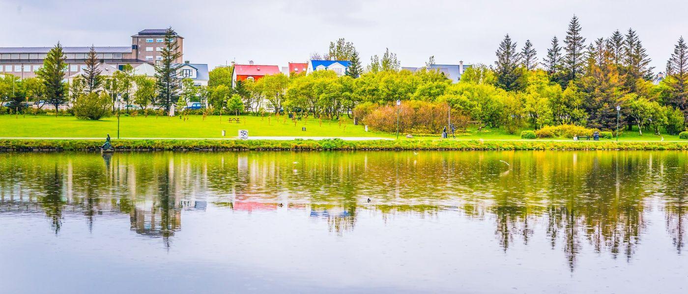 冰岛雷克雅未克(Reykjavík),城中湖_图1-20