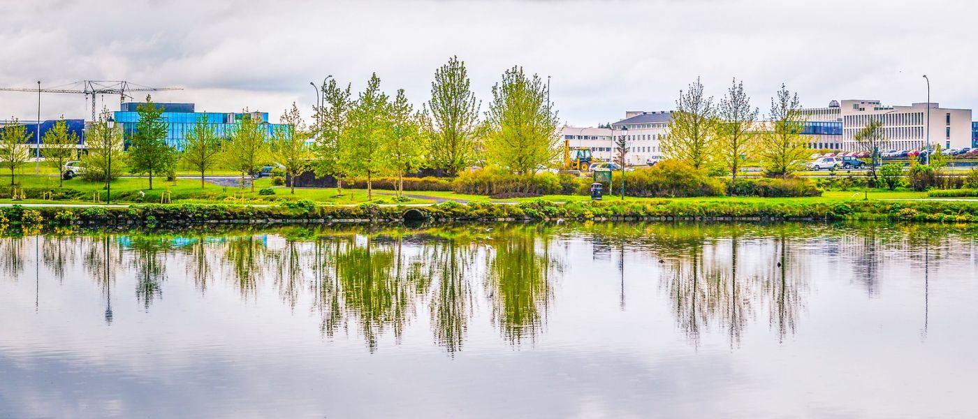冰岛雷克雅未克(Reykjavík),城中湖_图1-8