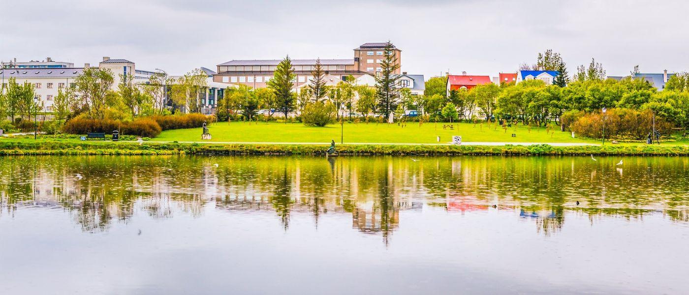 冰岛雷克雅未克(Reykjavík),城中湖_图1-9
