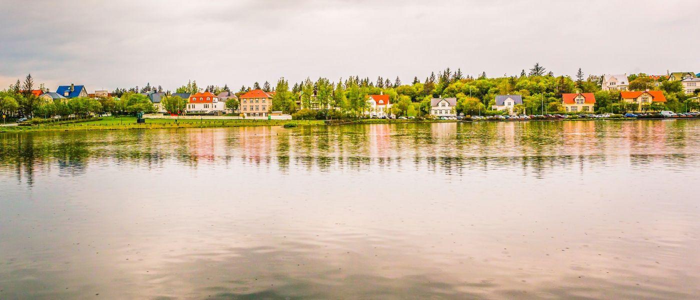 冰岛雷克雅未克(Reykjavík),城中湖_图1-10
