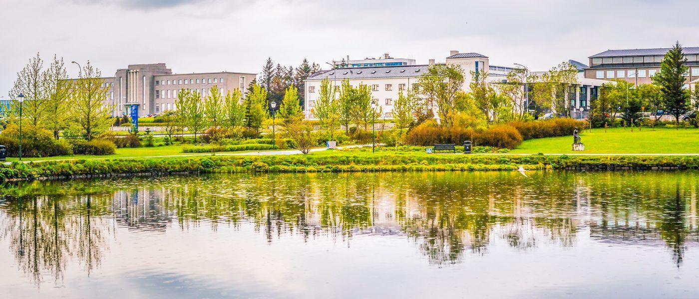 冰岛雷克雅未克(Reykjavík),城中湖_图1-16