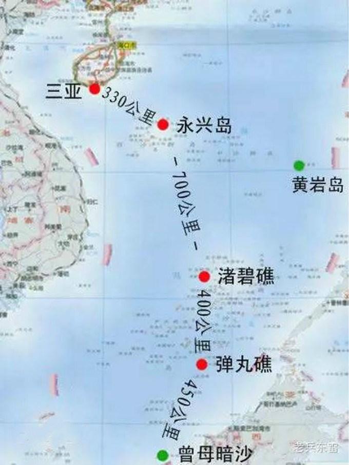 中国最南断领土曾母暗沙:距大陆2000公里,战略资源地理位置十分重要 ..._图1-2