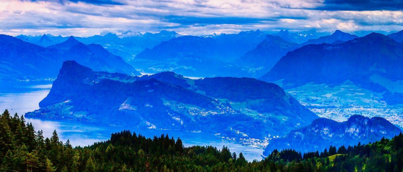 瑞士卢塞恩(Lucerne),山上山下_图1-40