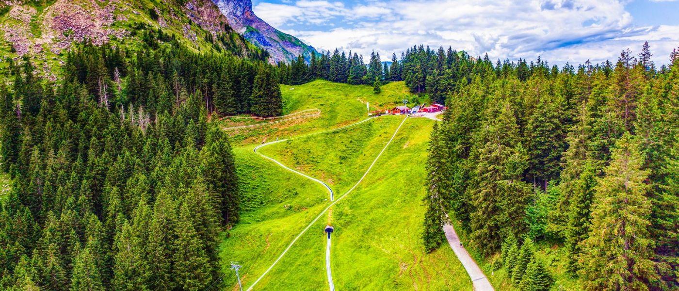 瑞士卢塞恩(Lucerne),山上山下_图1-39