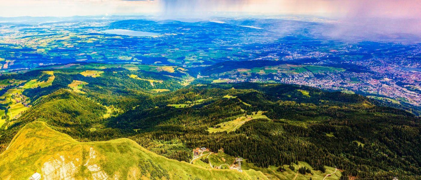 瑞士卢塞恩(Lucerne),山上山下_图1-37