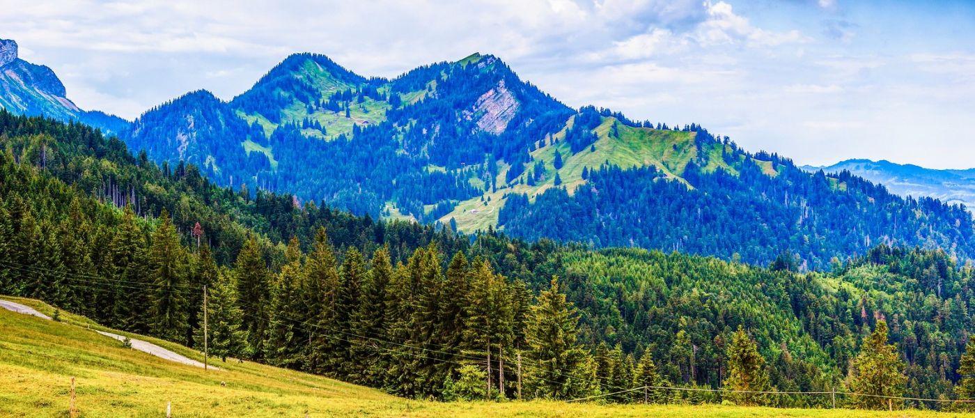 瑞士卢塞恩(Lucerne),山上山下_图1-36