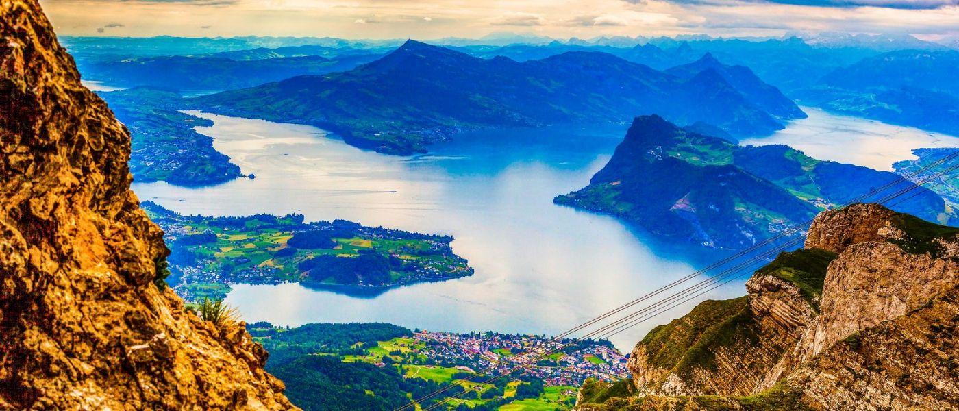 瑞士卢塞恩(Lucerne),山上山下_图1-35