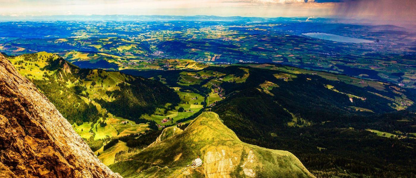 瑞士卢塞恩(Lucerne),山上山下_图1-33