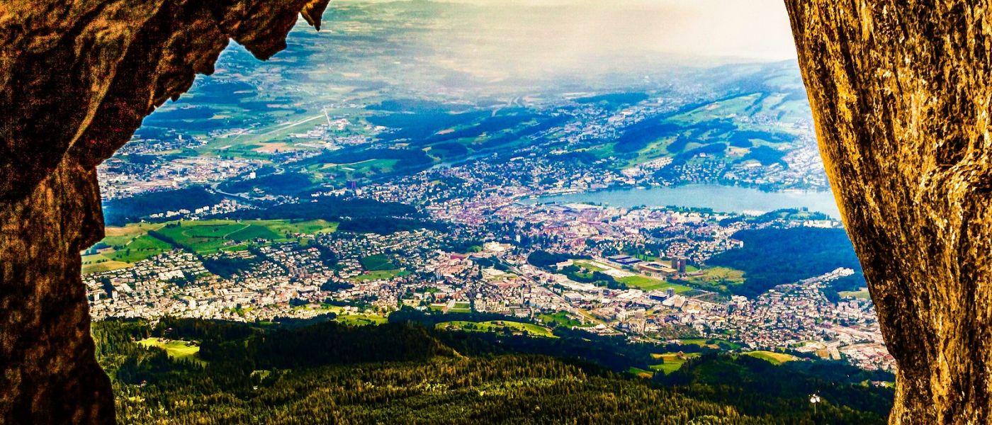 瑞士卢塞恩(Lucerne),山上山下_图1-29