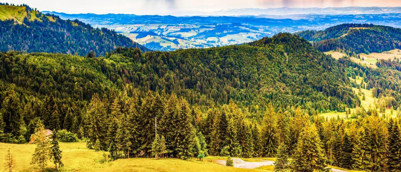 瑞士卢塞恩(Lucerne),山上山下_图1-30