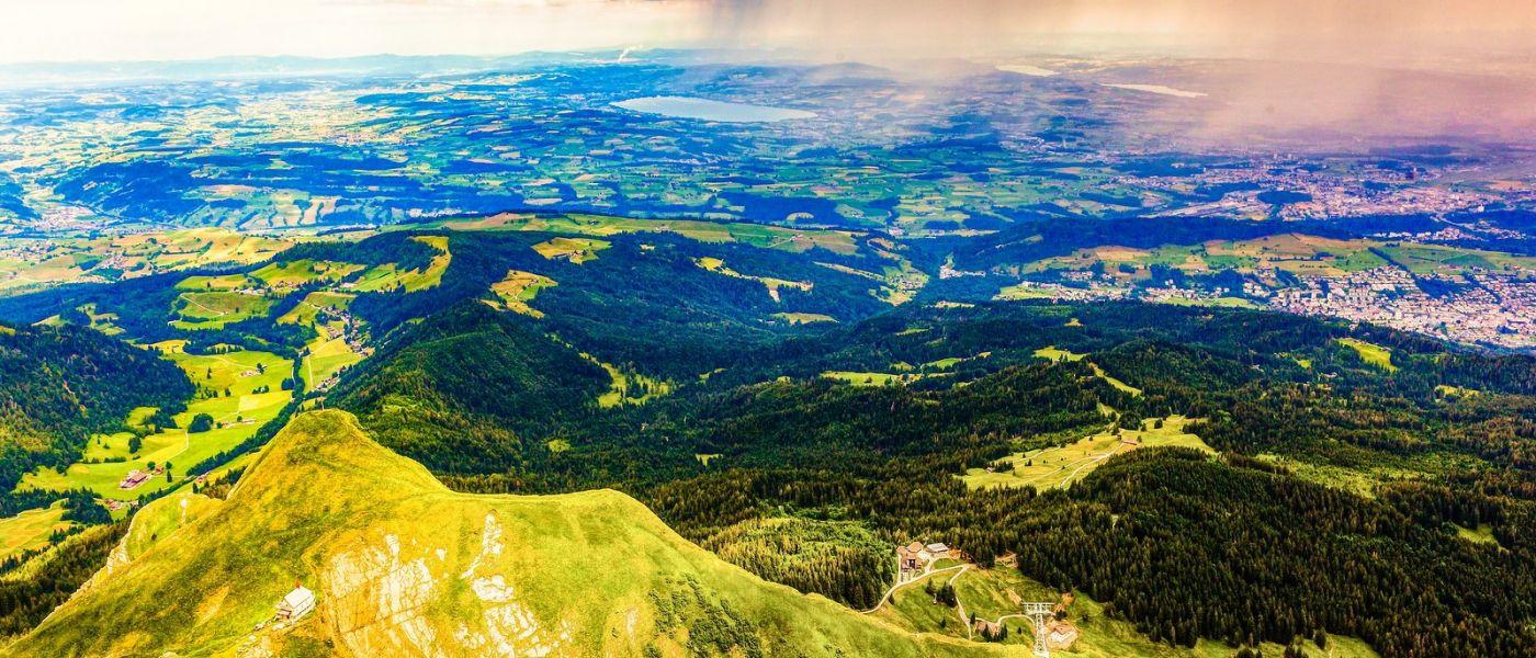 瑞士卢塞恩(Lucerne),山上山下_图1-31