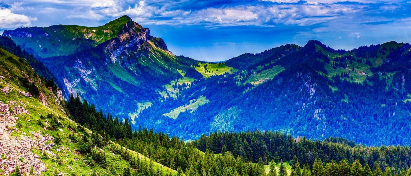 瑞士卢塞恩(Lucerne),山上山下_图1-32