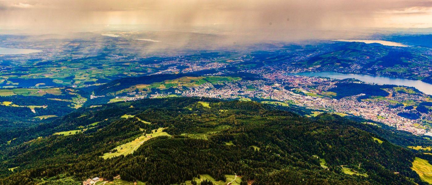 瑞士卢塞恩(Lucerne),山上山下_图1-28