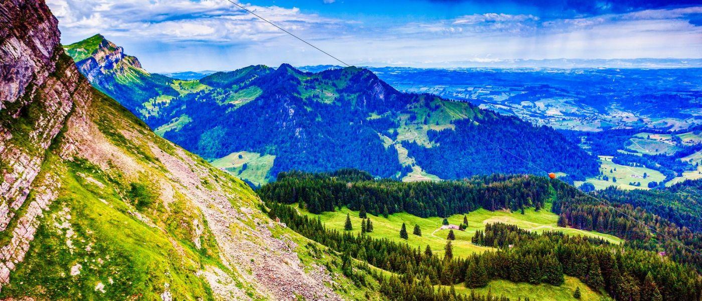 瑞士卢塞恩(Lucerne),山上山下_图1-26