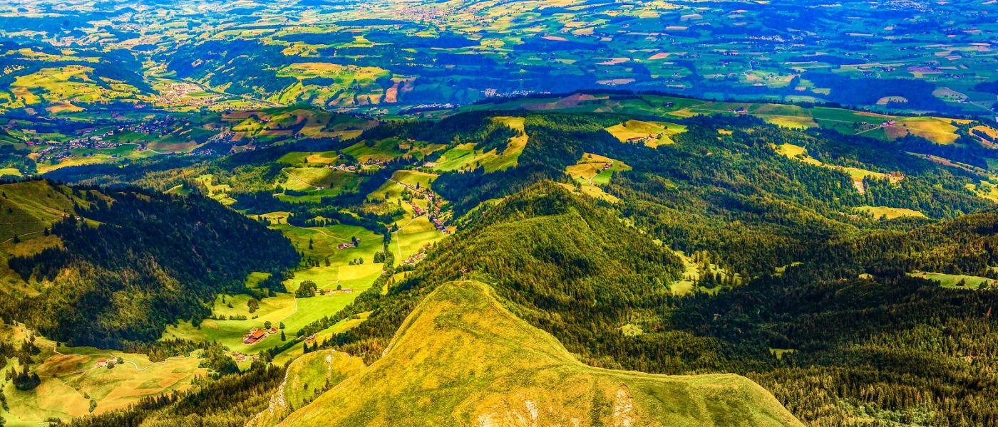 瑞士卢塞恩(Lucerne),山上山下_图1-27