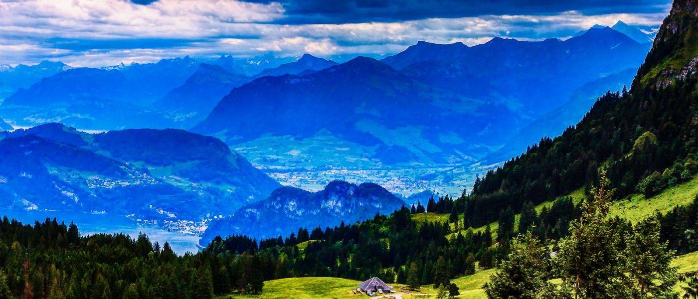 瑞士卢塞恩(Lucerne),山上山下_图1-25