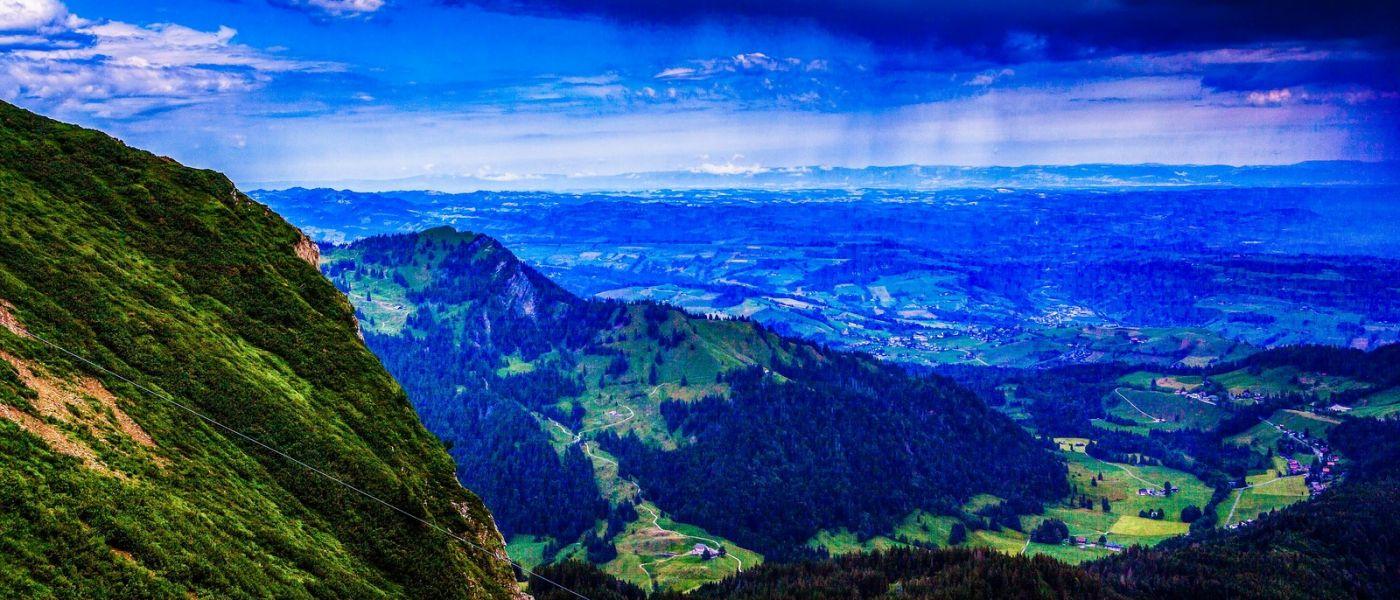 瑞士卢塞恩(Lucerne),山上山下_图1-20