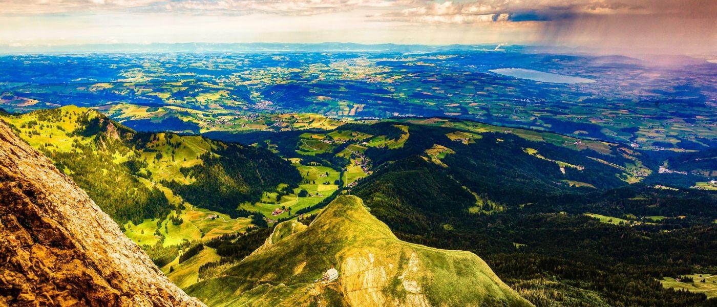 瑞士卢塞恩(Lucerne),山上山下_图1-19