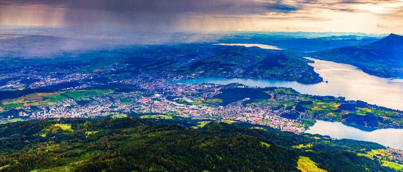 瑞士卢塞恩(Lucerne),山上山下_图1-14