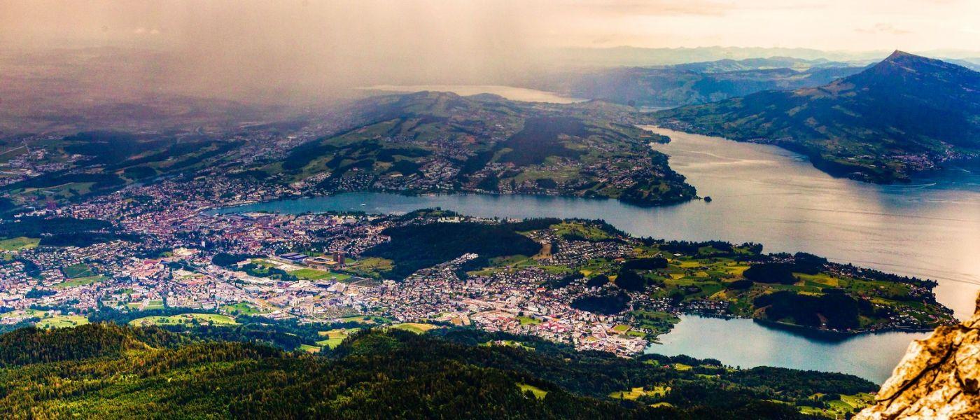 瑞士卢塞恩(Lucerne),山上山下_图1-13