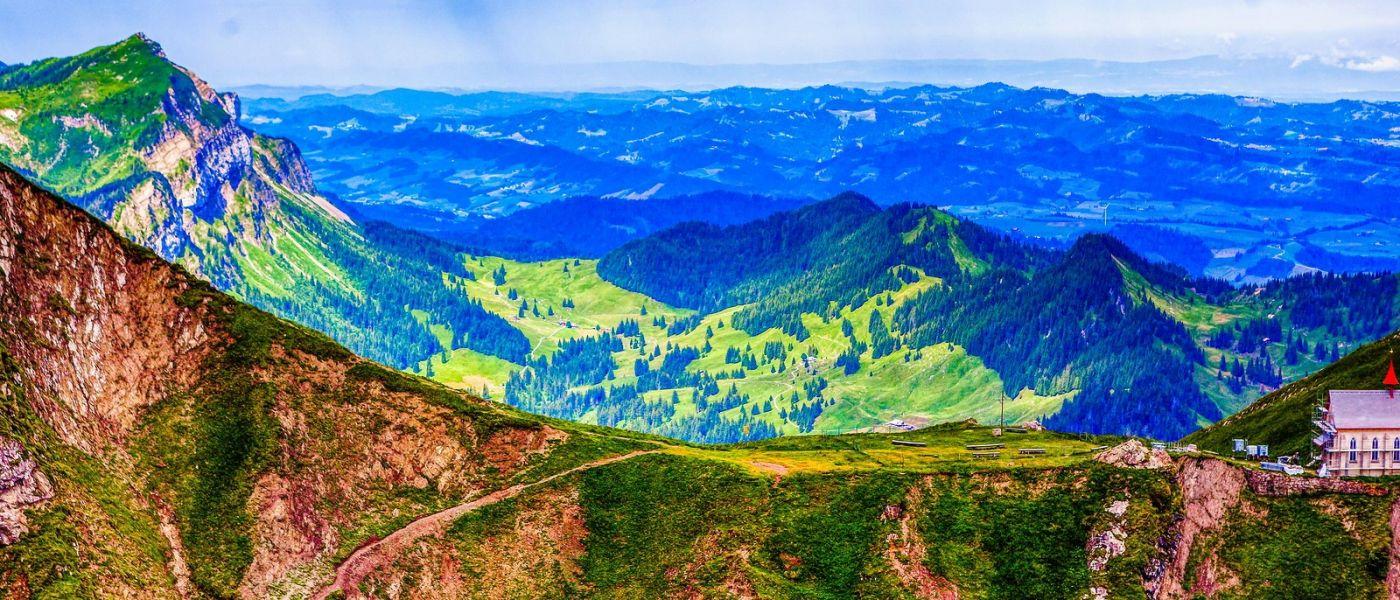 瑞士卢塞恩(Lucerne),山上山下_图1-16