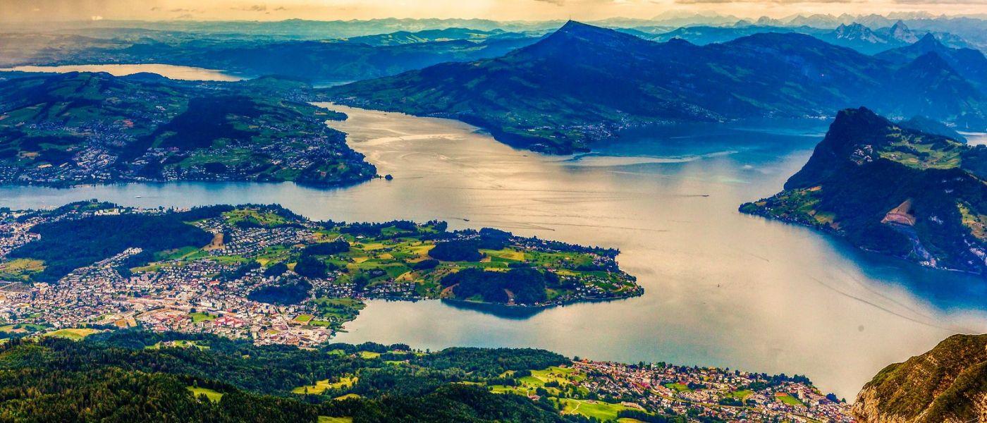 瑞士卢塞恩(Lucerne),山上山下_图1-1