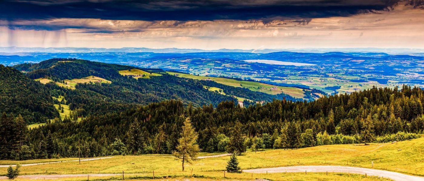 瑞士卢塞恩(Lucerne),山上山下_图1-4