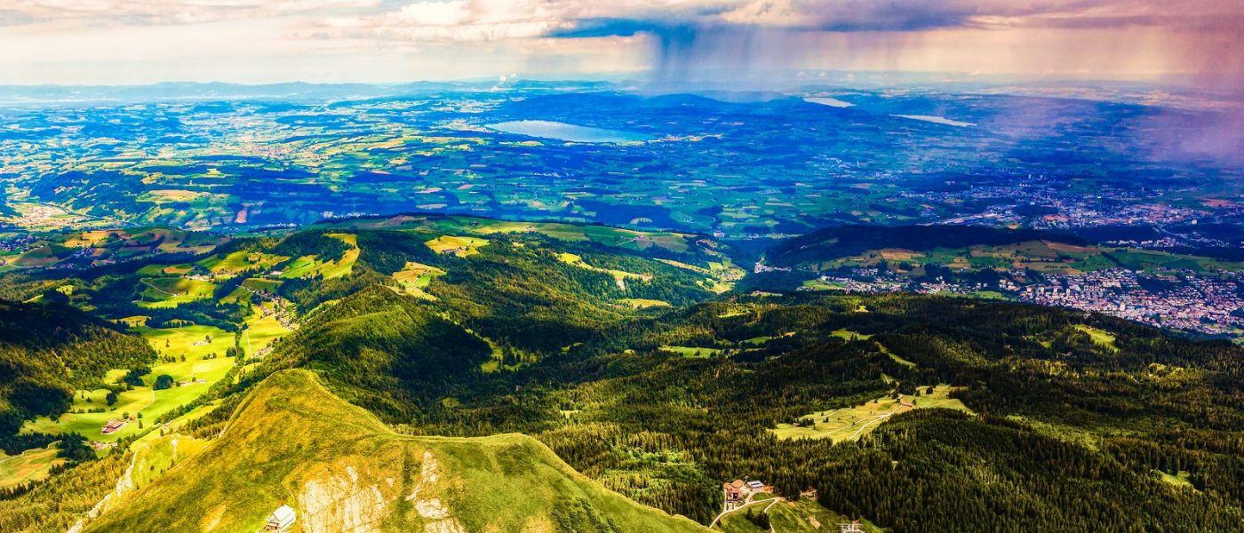 瑞士卢塞恩(Lucerne),山上山下_图1-2