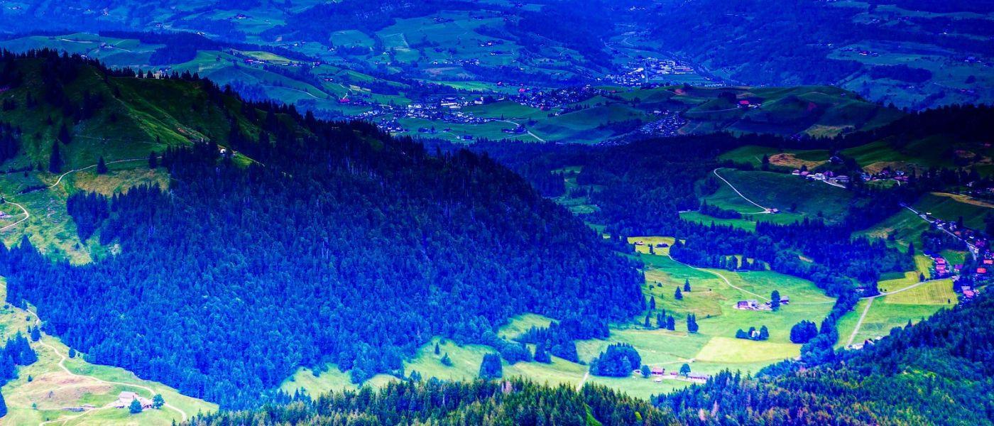 瑞士卢塞恩(Lucerne),山上山下_图1-3