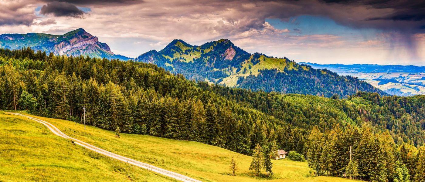 瑞士卢塞恩(Lucerne),山上山下_图1-12