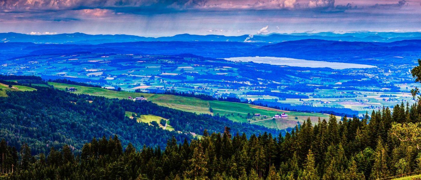 瑞士卢塞恩(Lucerne),山上山下_图1-8