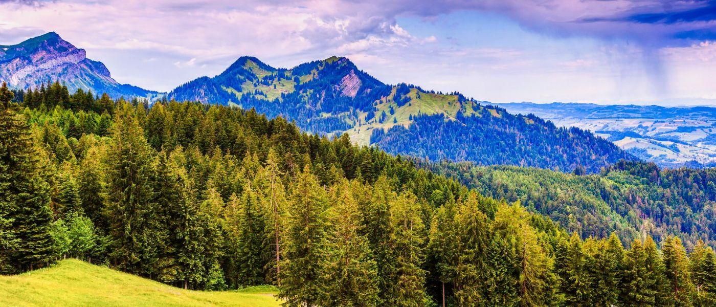 瑞士卢塞恩(Lucerne),山上山下_图1-7