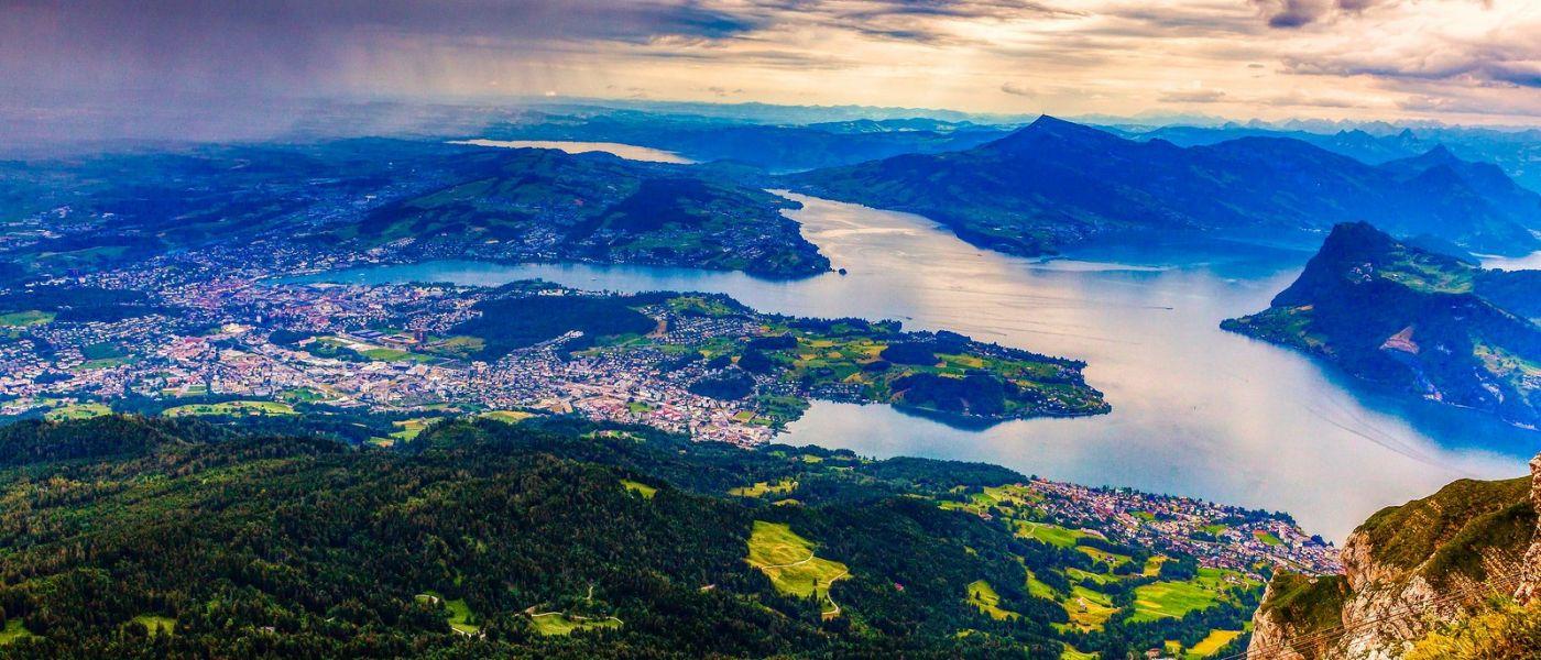 瑞士卢塞恩(Lucerne),山上山下_图1-5