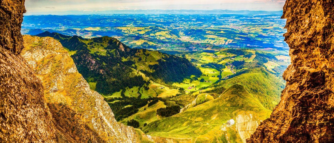 瑞士卢塞恩(Lucerne),山上山下_图1-11