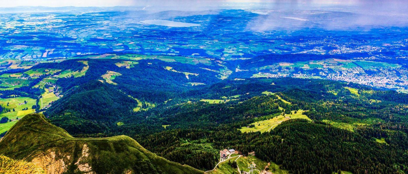 瑞士卢塞恩(Lucerne),山上山下_图1-9