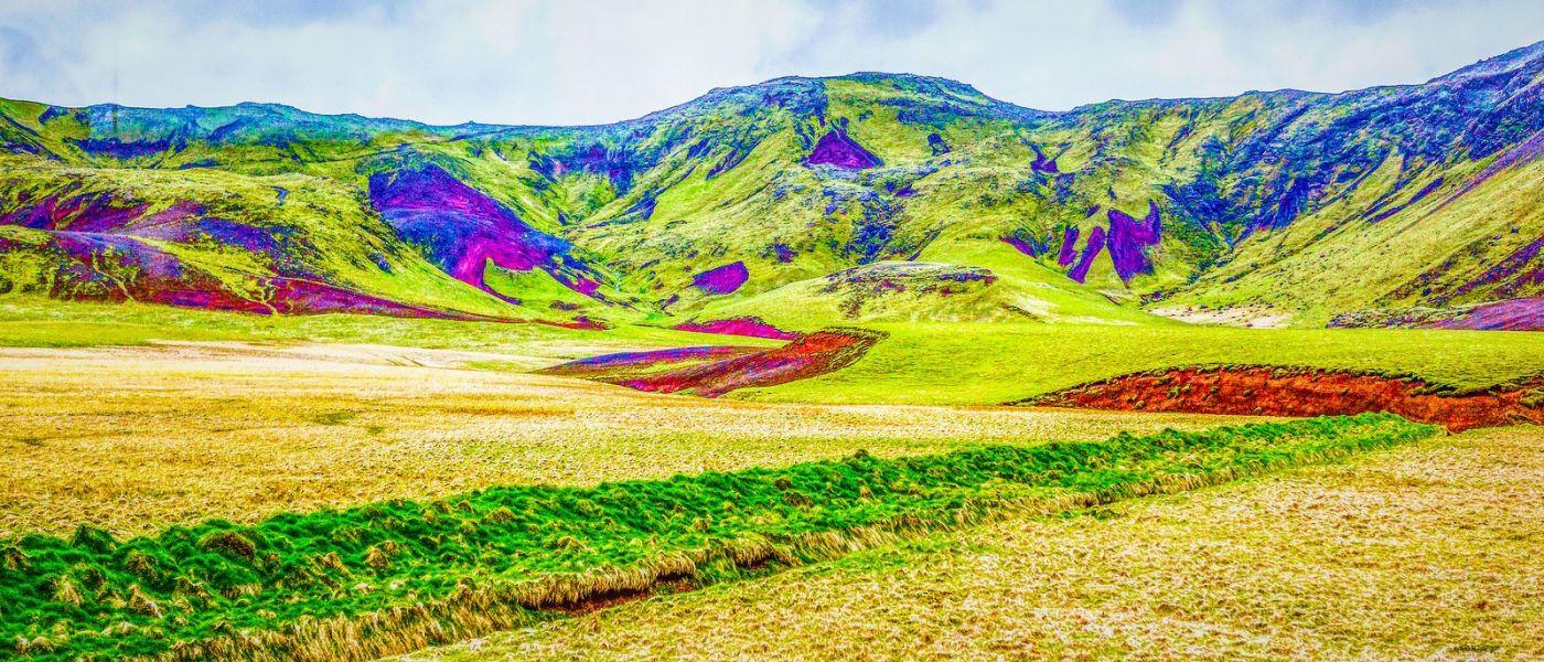 冰岛风采,山体连绵_图1-11