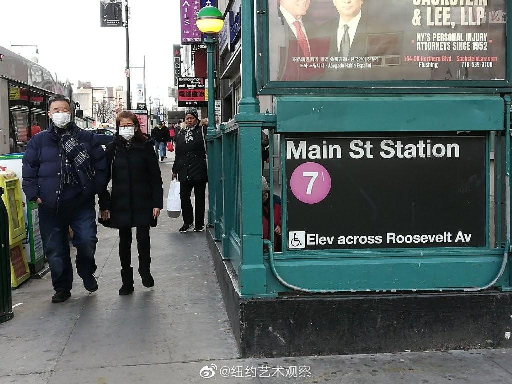 纽约抗疫前线,华人严阵以待_图1-1
