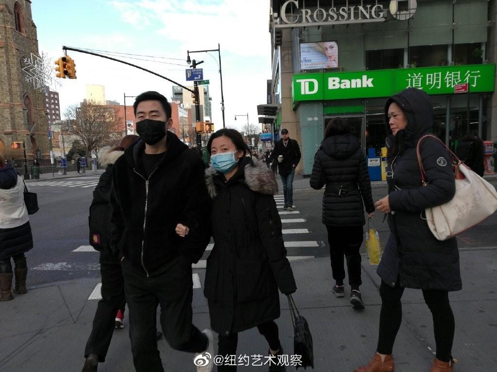 纽约抗疫前线,华人严阵以待_图1-2