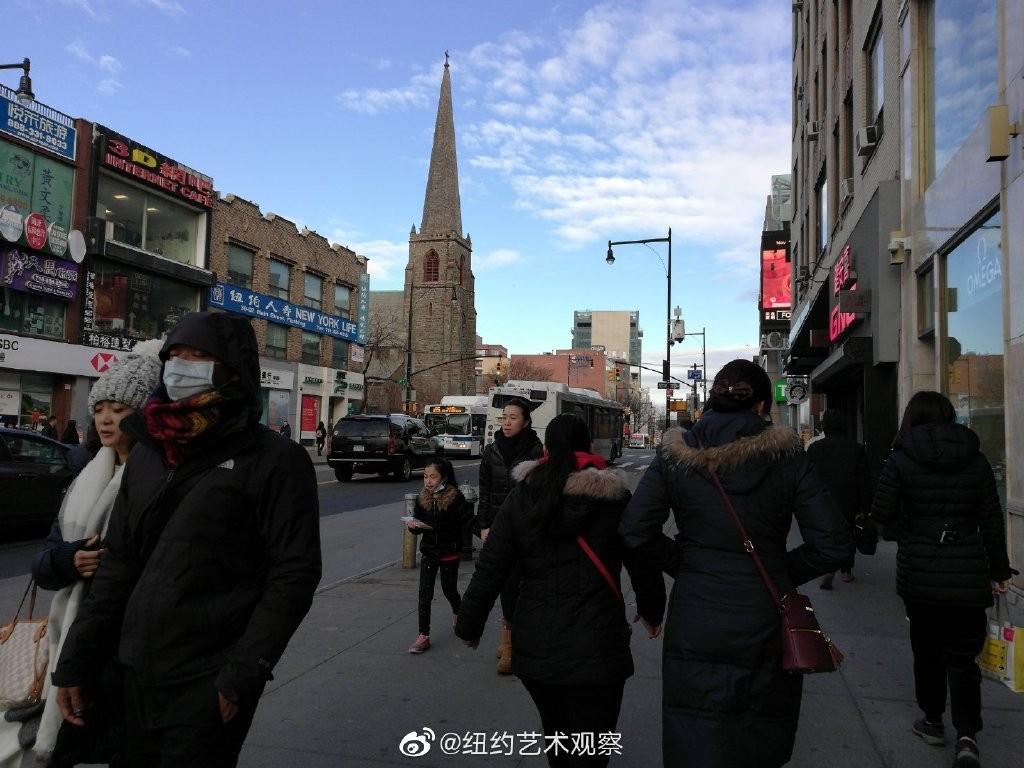 纽约抗疫前线,华人严阵以待_图1-5