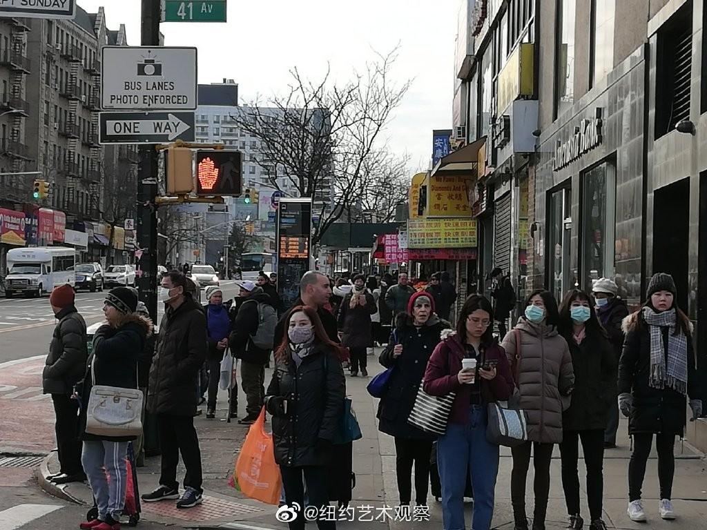 纽约抗疫前线,华人严阵以待_图1-3